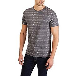 Burton - Grey stripe t-shirt