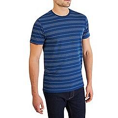 Burton - Blue stripe t-shirt