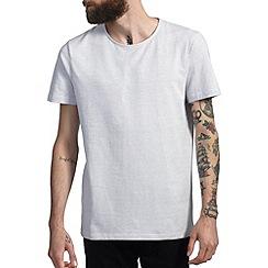 Burton - White mini dot jacquard t-shirt