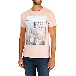 Burton - Pink san francisco t-shirt