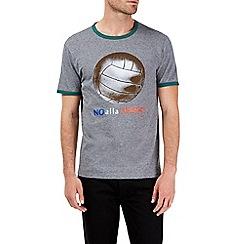 Burton - Grey burro football t-shirt