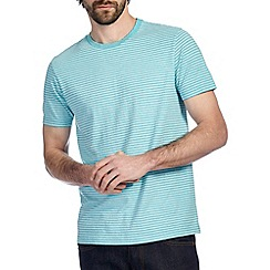 Burton - Turquoise marl stripe t-shirt
