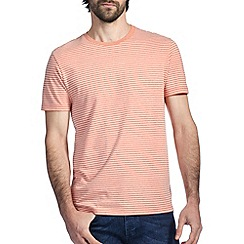 Burton - Peach marl stripe t-shirt