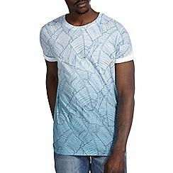 Burton - Blue printed fade t-shirt