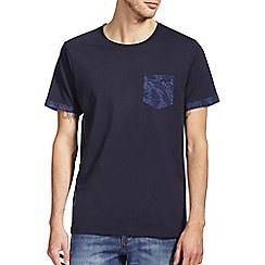 Burton - Floral pocket and sleeves t-shirt