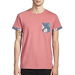 Burton - Floral pocket & sleeves t-shirt