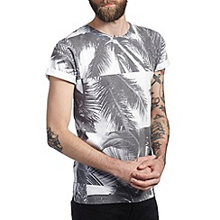 Burton - Palm tree grid printed t-shirt