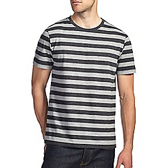 Burton - Grey block stripe t-shirt