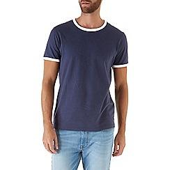 Burton - Navy ringer t-shirt