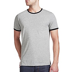 Burton - Grey ringer t-shirt