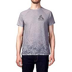 Burton - Grey fade chest print t-shirt