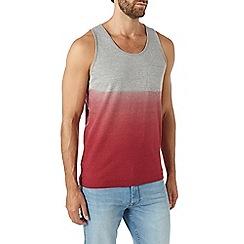 Burton - Red dip dye vest