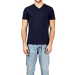 Burton - Navy v-neck t-shirt