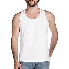 Burton - White jersey vest
