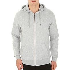 Burton - Grey zip up hoodie