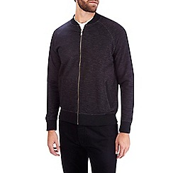 Burton - Charcoal slub bomber jacket