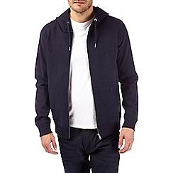 Burton - Navy peached hoodie