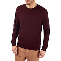 Burton - Burgundy pique sweatshirt