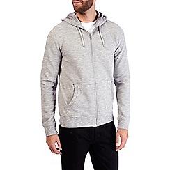 Burton - Light grey jaspe hoodie