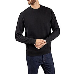 Burton - Black peached turtle neck sweatshirt