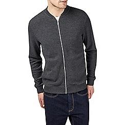 Burton - Charcoal pique bomber jacket