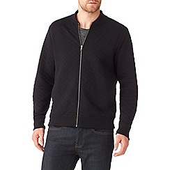 Burton - Black quilted bomber