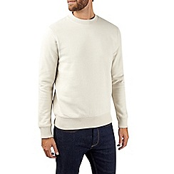 Burton - Cream peached turtle neck sweatshirt