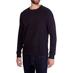 Burton - Navy pique sweatshirt