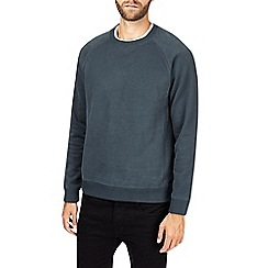 Burton - Teal peached sweatshirt