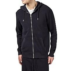 Burton - Navy pique hoodie