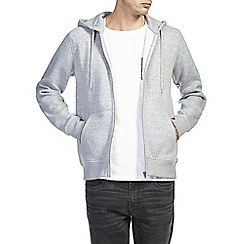 Burton - Urey marl zip up hoody