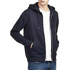 Burton - Navy zip up hoodie