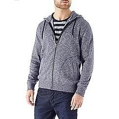 Burton - Navy textured hoody