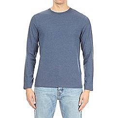 Burton - Denim marl long sleeve t-shirt
