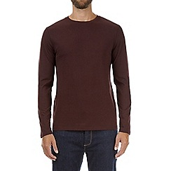 Burton - Burgundy long sleeve t-shirt