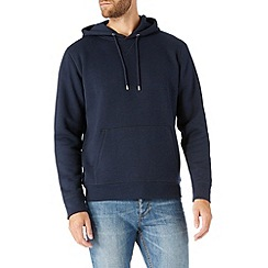 Burton - Navy overhead hoodie