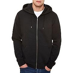 Burton - Black zip up hoodie