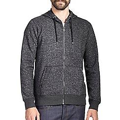 Burton - Charcoal textured hoodie