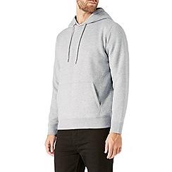 Burton - Grey marl overhead hoodie