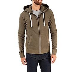 Burton - Khaki waffle hoodie