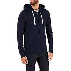 Burton - Navy waffle hoodie