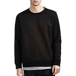 Burton - Black sweatshirt with mock t-shirt insert