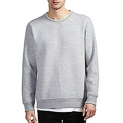 Burton - Grey sweatshirt with mock t-shirt insert