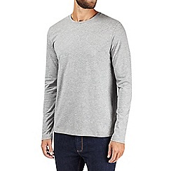 Burton - Grey marl long sleeve t-shirt