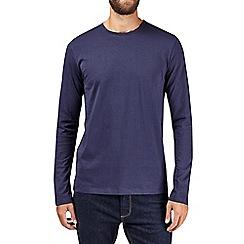 Burton - Navy long sleeve t-shirt