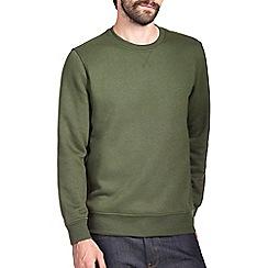Burton - Khaki green sweatshirt