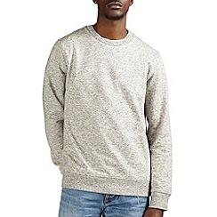 Burton - Grey texture sweatshirt