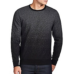 Burton - Charcoal grey ombre sweatshirt