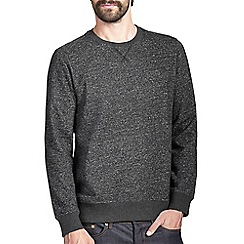 Burton - Charcoal grey textured sweatshirt