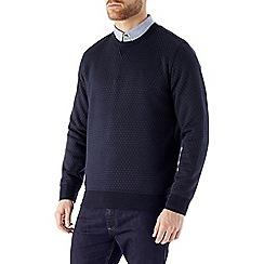 Burton - Navy geo print sweatshirt